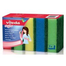 VILEDA Style houbičky MAXI 5 ks 148043