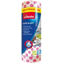 VILEDA Light&Soft universální utěrka 40 ks 150540