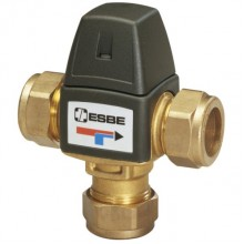ESBE VTA 323 směšovací ventil, 35-60°C, CPF 18 mm, Kvs 1,5 m3/hod 31103900