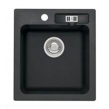 ALVEUS Victoria 20 granitový dřez, 430 x 480 mm, černá 3122091