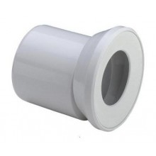 VIEGA Připojovací trubka pro WC, excentrická 100 alpská bílá 103231V