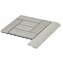 WPC Přechodová lišta pro dlaždice G21 Incana, 38,5 x 7,5 cm rohová 63910063