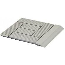 WPC Přechodová lišta pro dlaždice G21 Incana, 30 x 75 cm rovná 63910064
