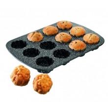 STONELINEForma na muffiny s mramorovým povrchem, 12ks,WX-8037