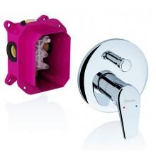 RAVAK Neo NO 065.00 Podomítková baterie s přepínačem pro R-box X070045