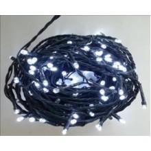 Vánoční osvětlení 100 LED - BÍLÉ / 10LED bliká VS481