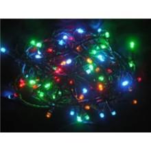 Vánoční osvětlení 180 LED - BAREVNÉ / 18LED bliká , 24V IP44 VS486
