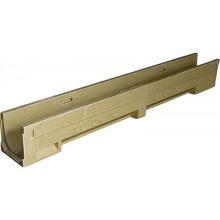 ACO Drain N100-5 žlab 1,0 m, H=15/15,5 cm, se spádem dna 0,5% 405105