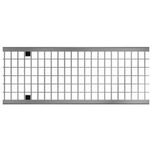 ACO MultiDrain V150/X150 mřížkový rošt D400, (MW20x25) 1m,Zn