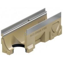 ACO Multiline Odvodňovací žlab V100S, 500 mm, hrana pozinkovaná 12343