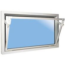 ACO sklepní celoplastové okno s IZO sklem 40 x 40 cm bílá