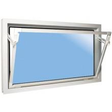 ACO sklepní celoplastové okno s IZO sklem 80 x 40 cm bílá