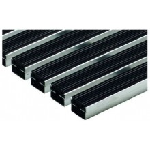 ACO rohožka s gumovou výplní 100 x 50cm, černá hliníkové profily 01215