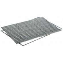ACO Vario Indoor, rohožka 60 x 40 cm, AL profil ,výplń plsť - šedá 37251