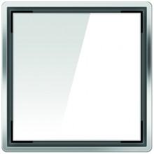 ACO ShowerPoint designový kryt bez vzoru, bílý 5141.38.02