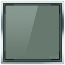 ACO ShowerPoint designový kryt bez vzoru, šedý 5141.38.03