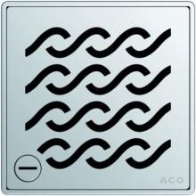 ACO ShowerPoint rošt 140 x 140 mm, s aretací, Hawaii 5141.21.29
