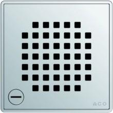 ACO ShowerPoint rošt 140 x 140 mm, s aretací, Quadrato 5141.21.22