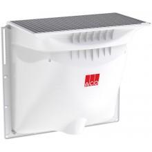 ACO Allround Sklepní světlík pochozí, 1250 x 1300 x 600 mm, mřížkový - oka 30/30 mm 375017