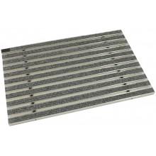ACO rohožka s plstěnou výplní 75 x 50cm, světle šedá hliníkové profily 02181