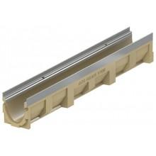 ACO DRAIN Multiline Odvodňovací žlab V100S, 1000 mm, hrana z pozink oceli 12330