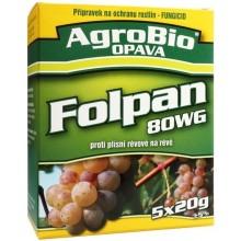 AgroBio FOLPAN 80 WG proti plísni révové v révě vinné 5x20 g