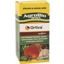 AgroBio ORTIVA proti houbovým chorobám, 50 ml 003089