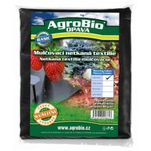 AgroBio netkaná textilie 40 g/m2 1,6x5 m, černá