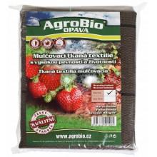 AgroBio tkaná textilie 100 g/m2 1,6x5 m, hnědá