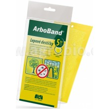 AgroBio ARBOBAND PM Lepové desky žluté, 5 ks 018134