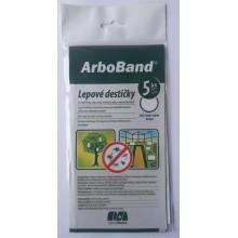 AgroBio ARBOBAND PM Lepové desky bílé, 5 ks 018135