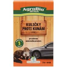 AgroBio ATAK Kuličky proti kunám, 2 ks 002164