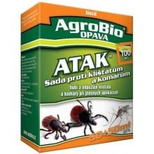 AgroBio ATAK Sada proti klíšťatům a komárům 50+50 ml 002129