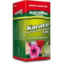 AgroBio 5 CS KARATE se Zeon technologii k hubení savého a žravého hmyzu, 6 ml 001029