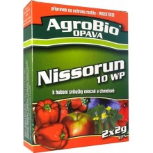 AgroBio NISSORUN 10 WP hubení svilušek, 2x2 g 001146