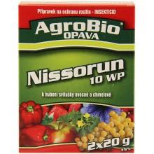 AgroBio NISSORUN 10 WP hubení svilušek, 2x20 g 001147