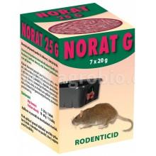 AgroBio NORAT G ranule pro hubení myší, potkanů a krys, 140 g 008067