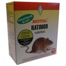 AgroBio RATIMOR parafinové bloky návnada, jed 250 g