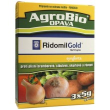 AgroBio RIDOMIL GOLD MZ Pepite proti houbovým chorobám, 3x5 g 003140