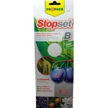 AgroBio STOPSET B desky bílé, 25x10 cm, 5 ks 011032
