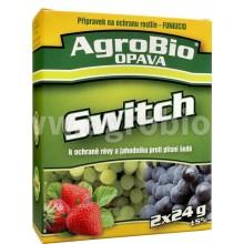 AgroBio SWITCH ochrana révy vinné a jahodníku proti plísni šedé, 2x24 g 003271