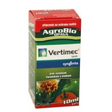 AgroBio VERTIMEC 1,8 EC insekticid proti sviluškám, třásněnkám a vrtalkám 10 ml 001065