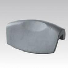 Podhlavník AH04 COLUMBIA stříbrno šedá