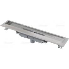 ALCAPLAST Professional Low podlahový žlab s okrajem pro plný rošt APZ1106-850