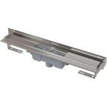ALCAPLAST Flexible podlahový žlab s okrajem pro perforovaný rošt APZ1004-650