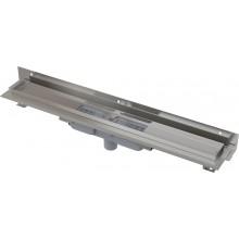 ALCAPLAST Flexible Low podlahový žlab 750 mm s okrajem pro perforovaný rošt APZ1104-750