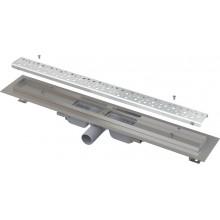 ALCAPLAST Low podlahový žlab antivandal s roštem APZ111-650