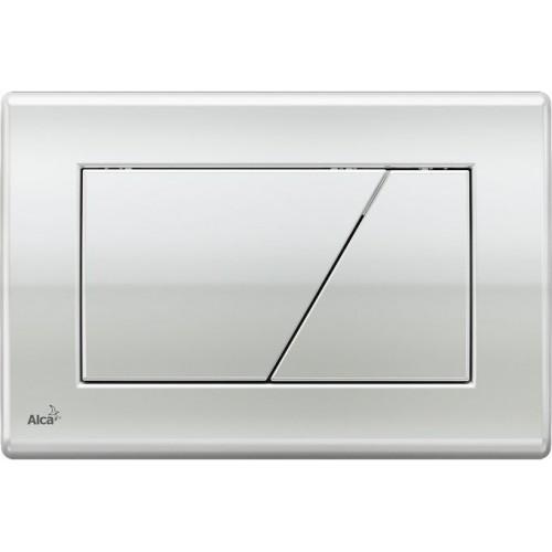 ALCAPLAST Ovládací tlačítko splachovací M171 pro předstěnové instalační systémy (chrom lesk)