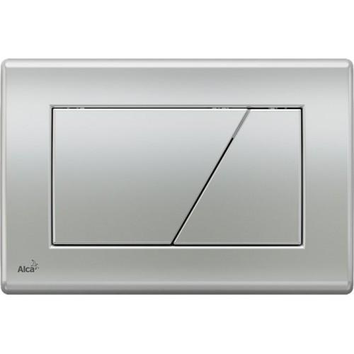 ALCAPLAST Ovládací tlačítko splachovací M172 pro předstěnové instalační systémy (chrom mat)