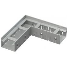 ALCAPLAST Drenážní žlab rohový 75 mm nastavitelný, pozinkovaná ocel ADZ101VR